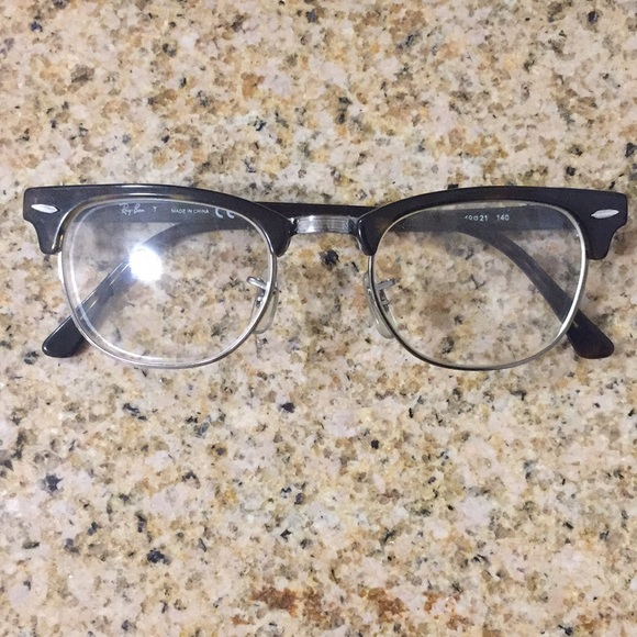 Ray-Ban RX 5154 Clubmaster Men s Glasses in Brown.  M 5b248d95c2e9feaa4215d770 2e8a420add